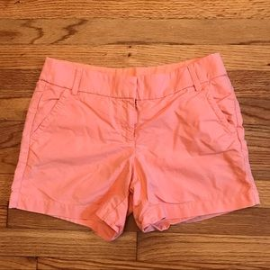 J. Crew Bermuda Shorts Womens 6 Salmon Pink